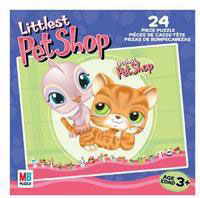 LITTLEST PET SHOP Puzzles 24 pieces - Bird and Cat