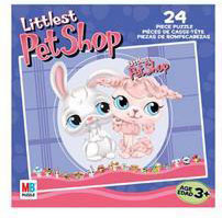 LITTLEST PET SHOP Puzzles 24 pieces - Bunny And Poodle