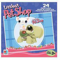 LITTLEST PET SHOP Puzzles 24 pieces - Mouse and Turtle