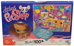 Littlest Pet Shop Puzzle - 100Pcs - BirthDay Party - Exclusive Cat