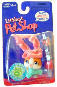 Littlest Pet Shop - Bunny with Winter Hat - 75
