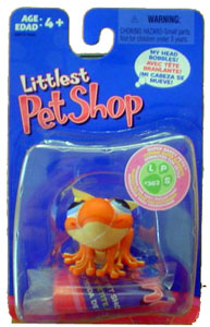 Littlest Pet Shop - Orange Frog - 362