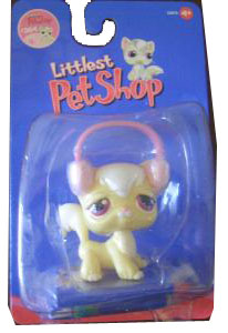 Littlest Pet Shop - Pearl Cream Cat - 364