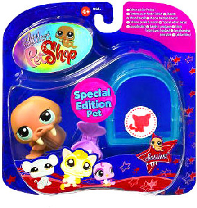Littlest Pet Shop - Sassiest Collection - Special Edition Walrus with Igloo