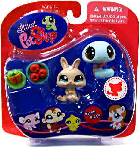 Littlest Pet Shop - Snake and Rabbit