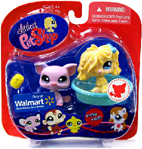 Littlest Pet Shop - Sheep Dog and Pig