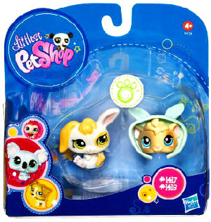 Littlest Pet Shop - 2-Pack - Bunny and Guinea Pig
