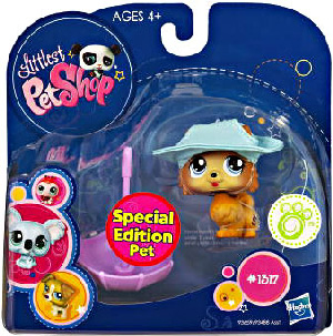 Littlest Pet Shop - Pet with Accessories - Special Edition Pet  Pomeranian Puppy