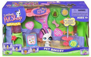LITTLEST PET SHOP DISPLAY AND PLAY Pet Bakery