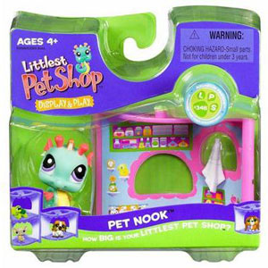 Pet Nook - Seahorse with Bathroom