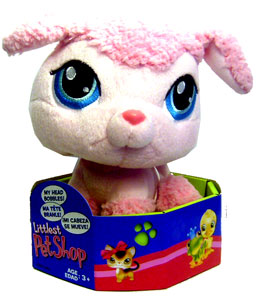Littlest Pet Shop - Poddle Bobble Head Plush