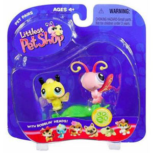 Littlest Pet Shop -  Bumblebee and Butterfly(201-202)