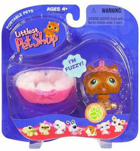 Littlest Pet Shop - Chow Chow with Bed