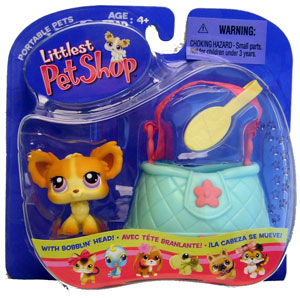 Littlest Pet Shop - Chihuahua with Purse