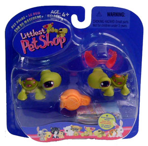Littlest Pet Shop - Duo Turtle