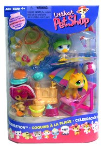 LITTLEST PET SHOP Summertime Pack Figures