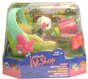 LITTLEST PET SHOP Feed Me Dog