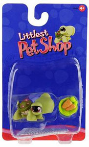 Littlest Pet Shop - Turtle with Carrot