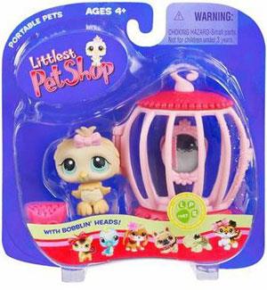 Littlest Pet Shop - Owl with Birdcage