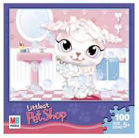 LITTLEST PET SHOP Puzzles 100 pieces - Bathroom