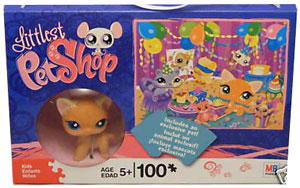 Littlest Pet Shop Puzzle - 100Pcs - BirthDay Party - Exclusive Cat