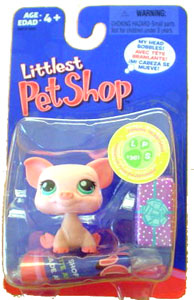 Littlest Pet Shop - Pink Pig with Gift - 361