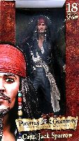18 Inch Captain Jack Sparrow (RANDOM FACE)