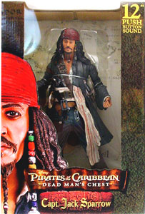 Dead Man Chest - 12-Inch Jack Sparrow