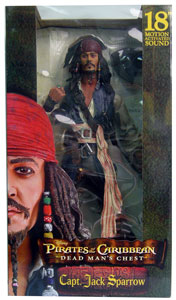 DMC - 18-Inch Talking Captain Jack Sparrow VEST