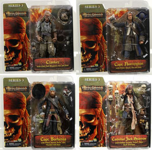 Dead Man Chest Series 3 Set of 4
