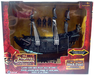 Zizzle At World End - Pirate Armada Black Pearl with Shipwreck Cove Playset