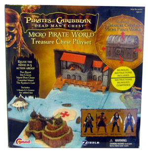 Zizzle - Micro Treasure Chest Playset