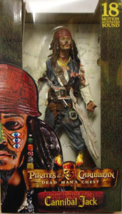 18-Inch Cannibal Jack Sparrow