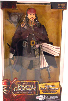 Zizzle At World End - 12-Inch Captain Jack Sparrow