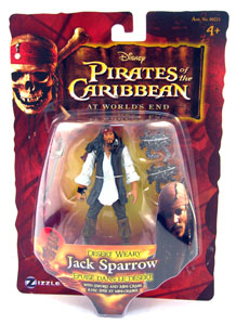 Zizzle At World End - Desert Weary Jack Sparrow
