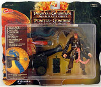 Zizzle - Deluxe Captain Jack Sparrow with Firing Black Pearl Cannon
