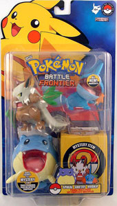 Pokemon Battle Frontier: Shiftry, Spheal, Mudkip