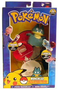 Pokemon Battle Frontier: Throw Pokeball Munchlax