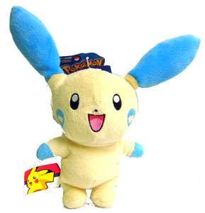 Pokemon Battle Frontier: 6-Inch Minun Plush