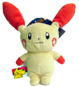 Pokemon Battle Frontier: 6-Inch Plusle Plush