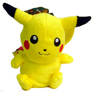 Pokemon Battle Frontier: 6-Inch Pikachu Plush