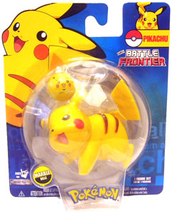 Pokemon Battle Frontier: Pikachu 4 Legs Attack
