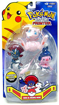 Pokemon Battle Frontier: Weavile, Mew, Mime Jr
