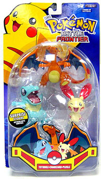 Pokemon Battle Frontier: Totodile, Plusle, Charizard