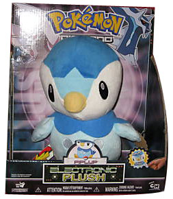 12-Inch Pokemon Electronic Plush Piplup
