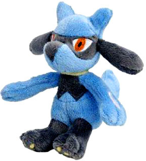 Pokemon Diamond and Pearl Mini Plush - Riolu