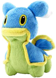 Pokemon Diamond and Pearl Mini Plush - Shellos East Sea Blue
