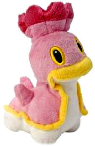 Pokemon Diamond and Pearl Mini Plush - Shellos West Sea Pink