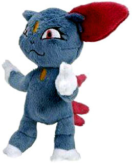 Pokemon Diamond and Pearl Mini Plush - Sneasel