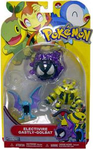 Pokemon Basic 3-Pack - Electivire, Gastly, Golbat